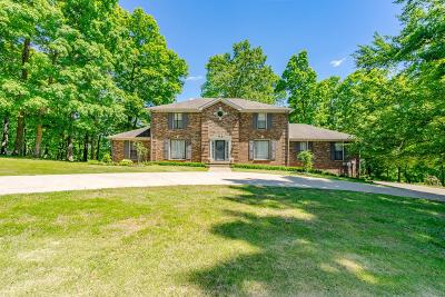 Christian County, Ky, Todd County, Ky, Montgomery County Single Family Home For Sale: 808 Shady Bluff Trl