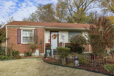 Nashville Single Family Home Under Contract - Not Showing: 376 Tusculum Rd