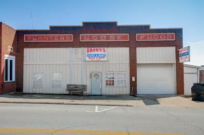 Adams, Clarksville, Springfield, Dover Commercial For Sale: 818 S Main St