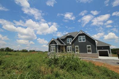 Rockvale Single Family Home For Sale: 8570 Newtown Road(Lot 1)