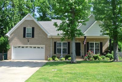 Christian County, Ky, Todd County, Ky, Montgomery County Single Family Home For Sale: 2903 Prince Drive