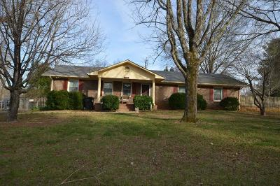 Murfreesboro TN Single Family Home Sold: $150,000