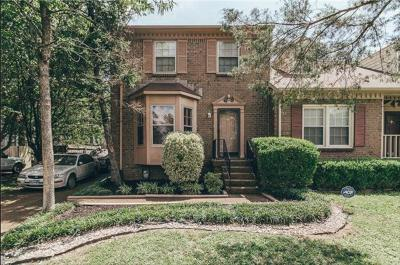 Nashville Single Family Home Under Contract - Not Showing: 596 Castlegate Dr