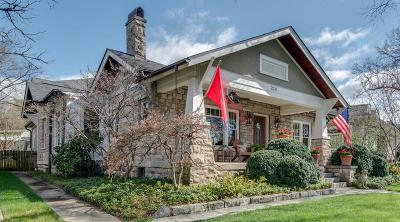 Nashville Single Family Home Under Contract - Showing: 214 Fairfax Ave