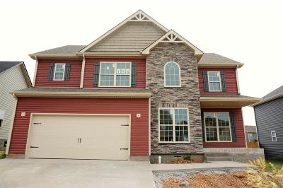 Clarksville Single Family Home Under Contract - Showing: 158 Crosswinds