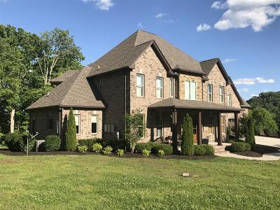 Hendersonville Single Family Home Under Contract - Showing: 2615 New Hope Rd