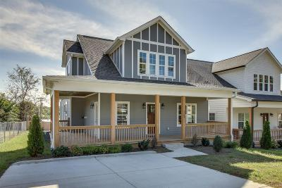 East Nashville Single Family Home Under Contract - Showing: 2204 Greenwood Ave