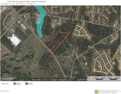 Antioch Residential Lots & Land For Sale: 3124 Murfreesboro Pike