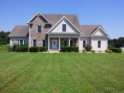 Christian County, Ky, Todd County, Ky, Montgomery County Single Family Home For Sale: 3021 Seven Mile Ferry Rd