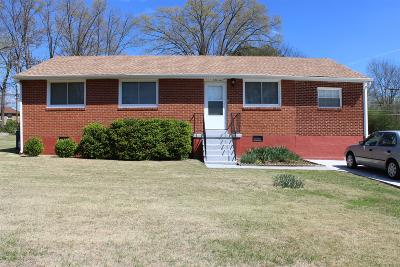 Christian County, Ky, Todd County, Ky, Montgomery County Single Family Home For Sale: 120 Yorktown Rd