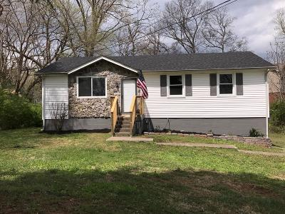 Clarksville Single Family Home Under Contract - Not Showing: 1327 Gibson Dr