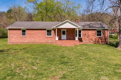 Ashland City Single Family Home For Sale: 5503 Old Hickory Blvd