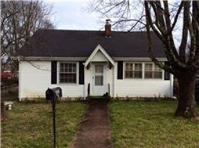 Lebanon TN Single Family Home For Sale: $97,900