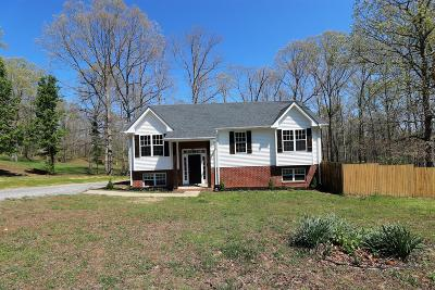 Dickson Single Family Home For Sale: 1052 Twin Pine Rd