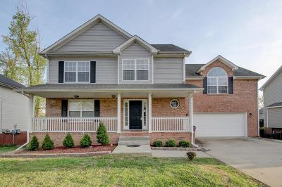 Christian County, Ky, Todd County, Ky, Montgomery County Single Family Home For Sale: 2548 Hattington Dr