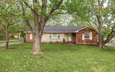 Nashville Single Family Home For Sale: 5006 Churchill Dr