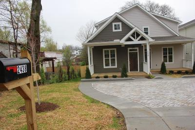 East Nashville Single Family Home For Sale: 2438 Inga St.