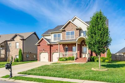 Clarksville Single Family Home Under Contract - Showing: 3382 Cotham Ln