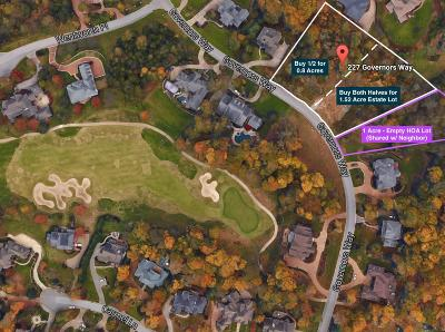 Brentwood  Residential Lots & Land For Sale: 229 Governors Way