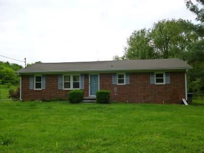 Shelbyville Single Family Home For Sale: 1782 Old Nashville Dirt Rd
