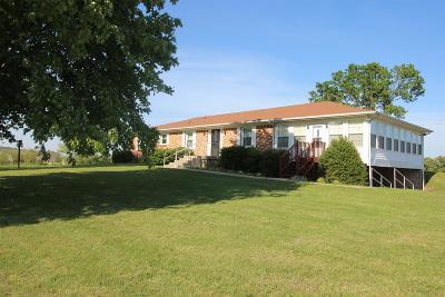 Bon Aqua Single Family Home For Sale: 575 N Davidson Rd