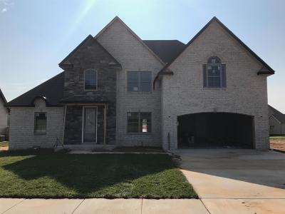 Clarksville Single Family Home Under Contract - Showing: 770 Farmington