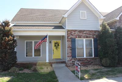 Clarksville Condo/Townhouse For Sale: 456 Pond Apple #3