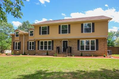 Single Family Home For Sale: 1615 Georgetown Ln