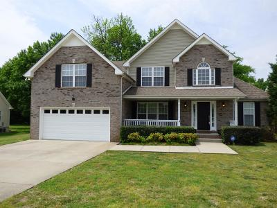 Clarksville Single Family Home Under Contract - Showing: 802 Fire Break Dr