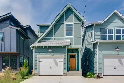 East Nashville Single Family Home For Sale: 1609 A Porter Ave