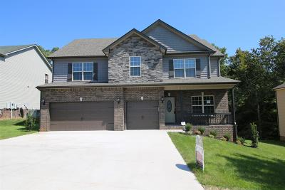 Clarksville Single Family Home Under Contract - Showing: 731 Fields Of Northmeade