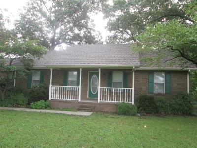 Bradyville Single Family Home Under Contract - Showing: 11117 Jim Cummings Hwy