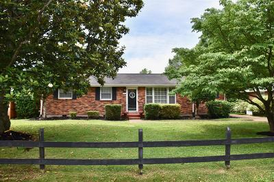 Single Family Home Under Contract - Showing: 307 Garrett Dr