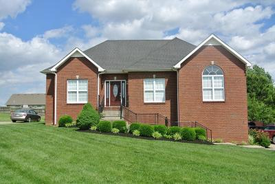 Clarksville Single Family Home Under Contract - Showing: 3545 Barkers Mill Road