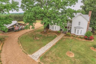 Linden Single Family Home For Sale: 332 Horseshoe Bend Road