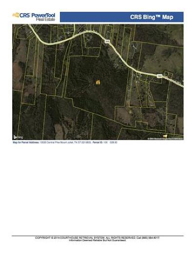 Wilson County Residential Lots & Land For Sale: 13530 Central Pike