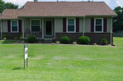 Gallatin Single Family Home Under Contract - Showing: 109 Rockwood Ter