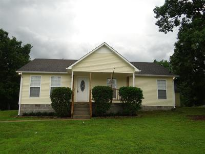 Lawrenceburg Single Family Home Under Contract - Not Showing: 129 Clifton Road
