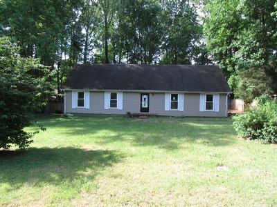 Clarksville Single Family Home Under Contract - Showing: 604 Marigold Dr
