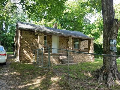 Clarksville Single Family Home For Sale: 309 Britton Springs Rd