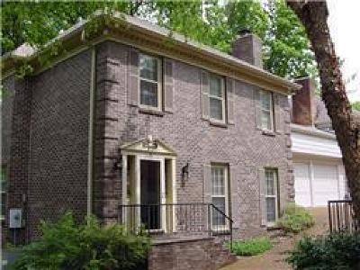 Nashville Rental For Rent: 153 D Woodmont Blvd #D