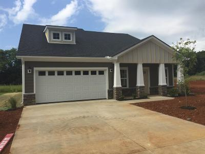 Smyrna Single Family Home For Sale: 213 Hourless Drive (Lot#42)