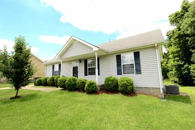 Clarksville Single Family Home Under Contract - Showing: 476 Caney Ln