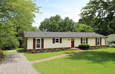 Christian County, Ky, Todd County, Ky, Montgomery County Single Family Home For Sale: 307 Mills Dr