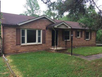 Clarksville Single Family Home For Sale: 1995 Church Rd