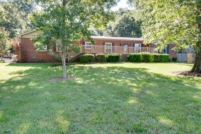Brentwood Single Family Home Under Contract - Showing: 1008 Waller Rd