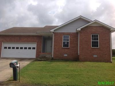 Christian County, Ky, Todd County, Ky, Montgomery County Single Family Home For Sale: 1858 Timberline Place