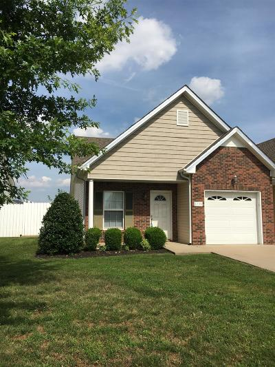 Christian County, Ky, Todd County, Ky, Montgomery County Single Family Home Under Contract - Showing: 3739 Meadow Ridge Ln