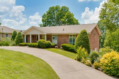 Gallatin Single Family Home Under Contract - Showing: 1092 Lock 4 Rd