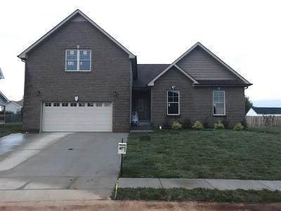 Clarksville Single Family Home Under Contract - Showing: 13 Kingstons Cove